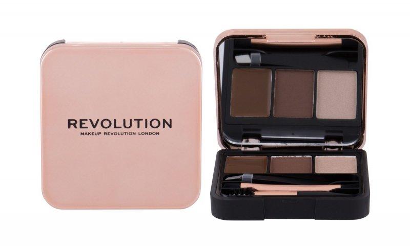 Makeup Revolution London Brow Sculpt Kit (Zestawy i palety do brwi, W, 2,2g)