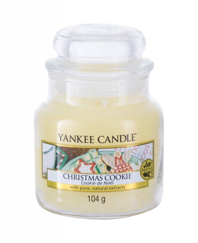 Yankee Candle Christmas Cookie (Świeczka zapachowa, U, 104g)