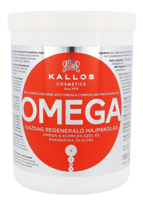 Kallos Cosmetics Omega (Maska do włosów, W, 1000ml)