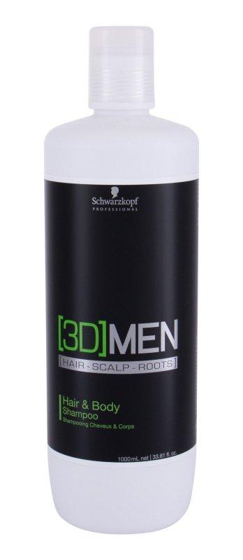 Schwarzkopf Professional 3DMEN (Szampon do włosów, M, 1000ml)