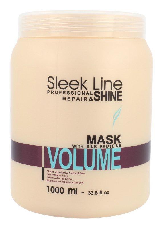 Stapiz Sleek Line Volume (Maska do włosów, W, 1000ml)