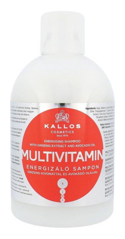 Kallos Cosmetics Multivitamin (Szampon do włosów, W, 1000ml)