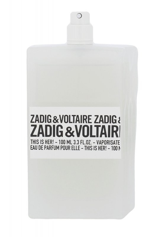 Zadig & Voltaire This is Her! (Woda perfumowana, W, 100ml, Tester)