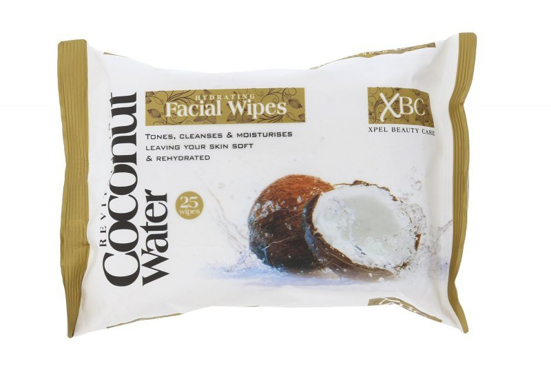Xpel Coconut Water (Chusteczki oczyszczające, W, 25szt)