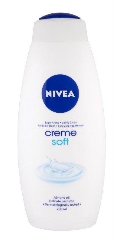 Nivea Creme Soft (Żel pod prysznic, W, 750ml)