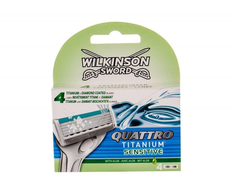 Wilkinson Sword Quattro (Wkład do maszynki, M, 4szt)