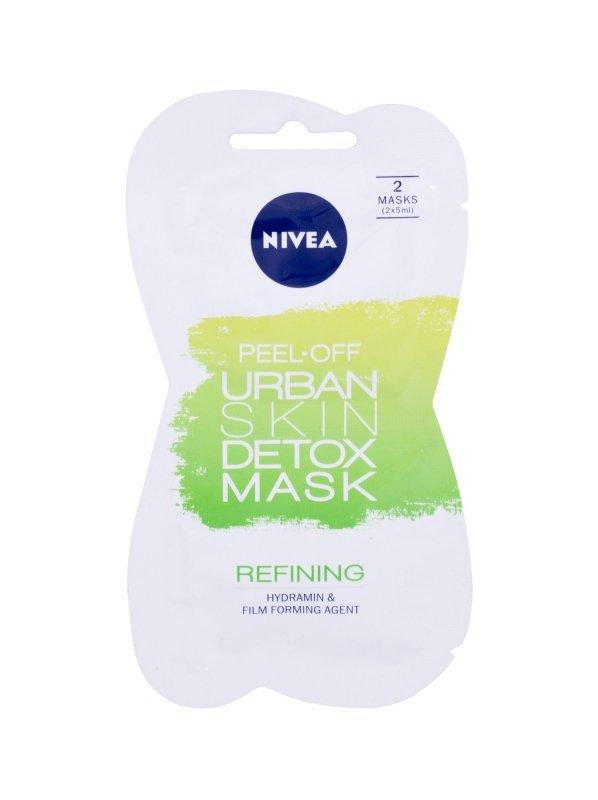 Nivea Urban Skin Detox (Maseczka do twarzy, W, 10ml)