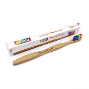 Humble Brush, Bambusowa szczoteczka do zębów, PROUD VERSION, kolorowa