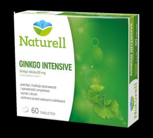 Ginkgo Intensive 80mg, 60tabl. NATURELL