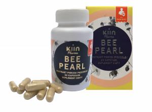 Bee Pearl - ekstrakt z pierzgi pszczelej 30kaps. KIIN PHARMA