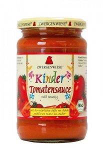ZWERGENWIESE Sos pomidorowy dla dzieci bezglutenowy BIO 350g