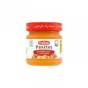 PRIMAVIKA Pasztet pomidorowy z cieciorką 160g
