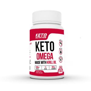 Keto Nutrition Omega Krill + MCT