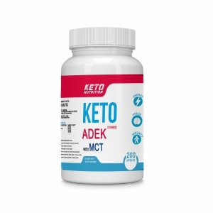 Keto Nutrition Witaminy A D E K with MCT