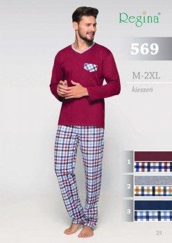 569 PIŻAMA MĘSKA BIG