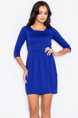 1 Figl 122 sukienka PROMO blue