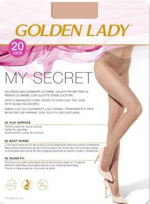 RAJSTOPY GOLDEN LADY MY SECRET 20