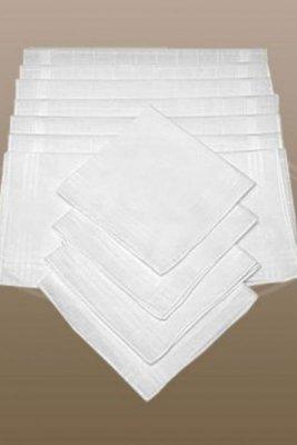 Chustki damskie białe CH-895 kpl=10szt