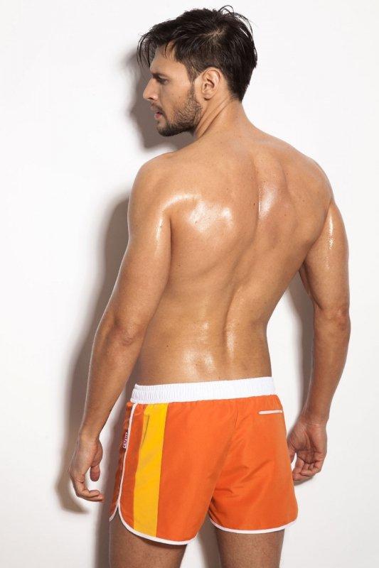 Alpha Male Curso orange kąpielówki