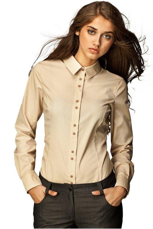 Koszula - beż - K38