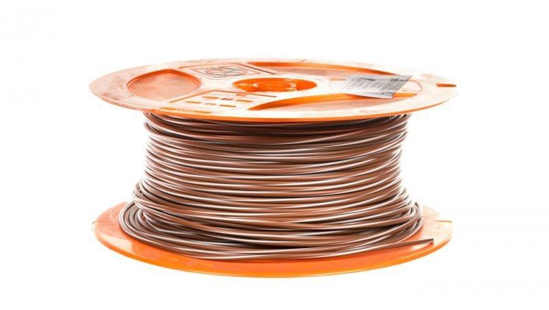 Przewód instalacyjny X05V-K 1 brązowy/biały 4512293S /250m/