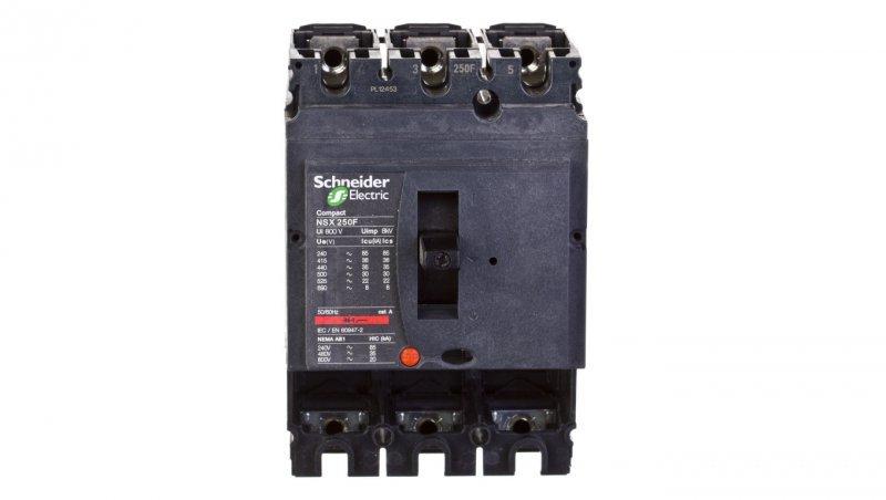 Wyłącznik mocy 250A 3P 36kA NSX250F 3P (podstawa) LV431403