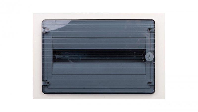 Rozdzielnica modułowa 1x18 podtynkowa IP40 Golf (drzwi transparentne) VF118TD