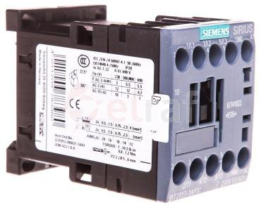Stycznik mocy 12A 3P 230V AC 1Z 0R S00 3RT2017-1AP01