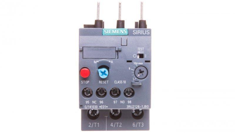 Przekaźnik termiczny 7-10A S0 3RU2126-1JB0