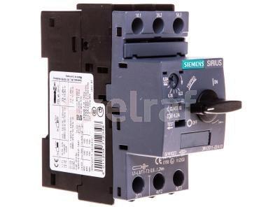 Wyłącznik silnikowy 3P 0,09kW 0,22-0,32A S00 3RV2011-0DA10