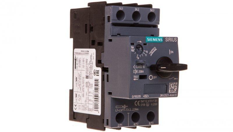 Wyłącznik silnikowy 3P 7,5kW 11-16A S0 3RV2021-4AA10
