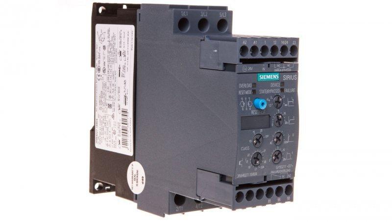 Softstart 3-fazowy 200-480VAC 32A 15kW/400V Uc=24V AC/DC S0 3RW4027-1BB04