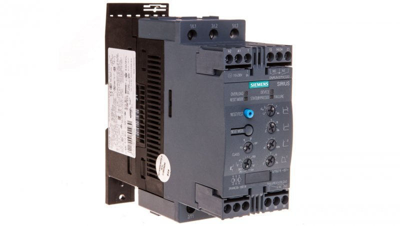Softstart 3-fazowy 200-480VAC 72A 37kW/400V Uc=110-230V AC/DC S2 3RW4038-1BB14
