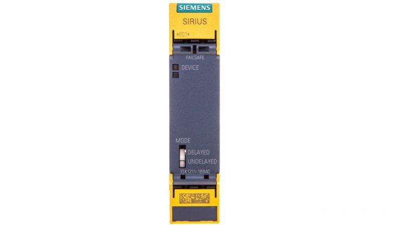 Przekaźnik bezpieczeństwa 4Z 1R 24V DC 3SK1211-1BB40