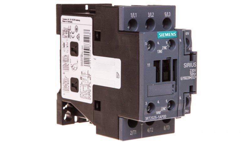 Stycznik mocy 17A 3P 230V AC 1Z 1R S0 3RT2025-1AP00