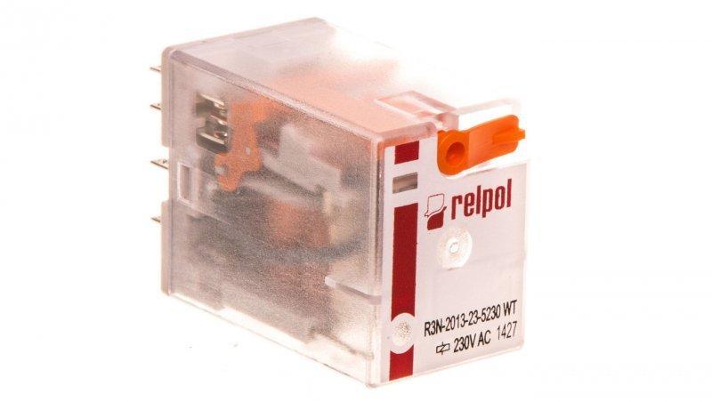 Przekaźnik przemysłowy 3P 230V AC AgNi R3N-2013-23-5230-WT