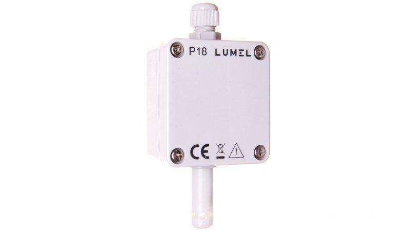 Przetwornik temperatury i wilgotnosci 2 wyjścia 4-20mA czujnik przy obudowie P18 100P0