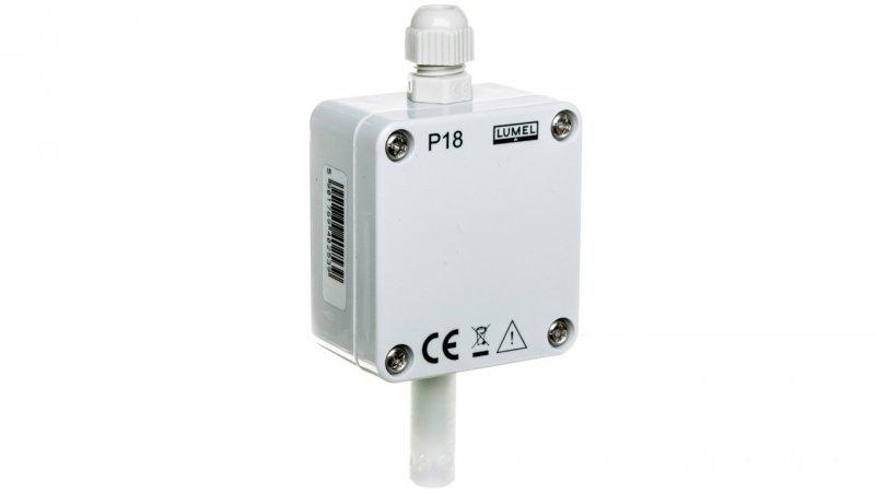 Przetwornik temperatury i wilgotnosci bez wyjscia analogowego czujnik przy obudowie P18 000P0