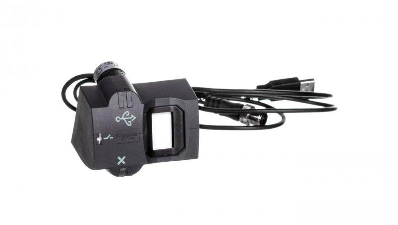 Przycisk biometryczny w gniazdem USB  XB5S4B2M12