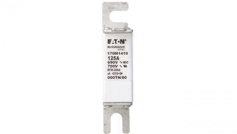 Wkładka bezpiecznikowa NH000 125A aR 690V 170M1418