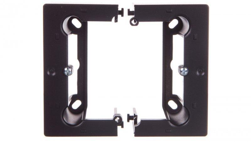 Simon Basic Neos Puszka natynkowa pojedyncza 40 mm. (1 szt. = 2 elementy) grafit matowy PSCS/28