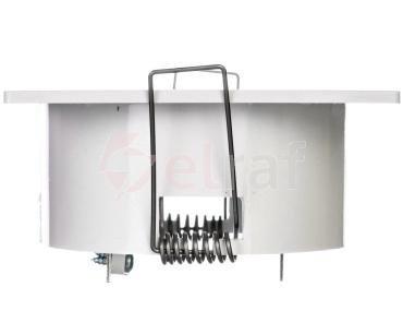 Oprawa awaryjna LOVATO P ECO LED 1W 120lm (opt. otwarta) 1h jednozadaniowa biała LVPO/1W/E/1/SE/X/WH