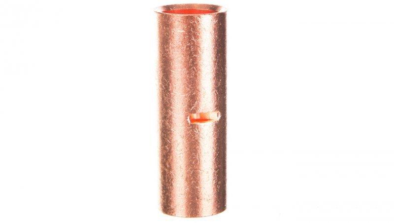 Końcówka /tulejka/ łącząca miedziana niecynowana 185mm2 LN185