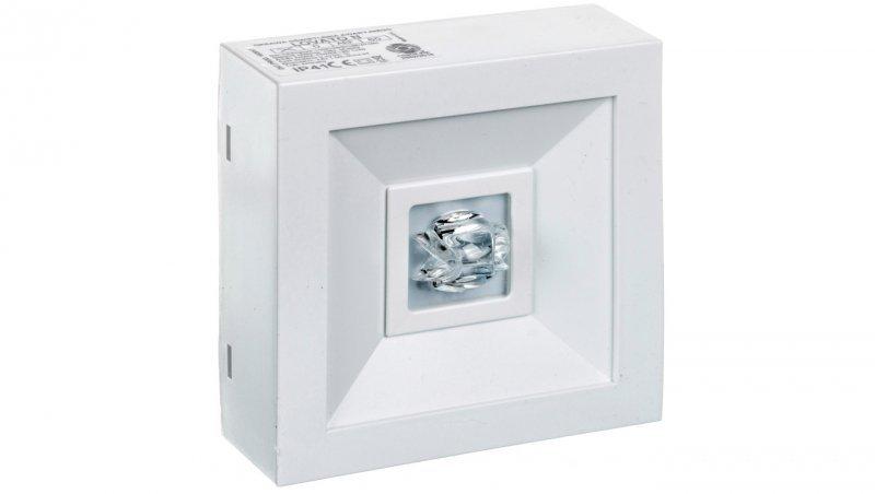 Oprawa awaryjna LOVATO N ECO LED 3W 315lm (opt. koryt.) 1h jednozadaniowa biała LVNC/3W/E/1/SE/AT/WH