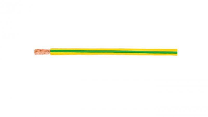 Przewód instalacyjny H07V-K (LgY) 1 żółto-zielony /100m/