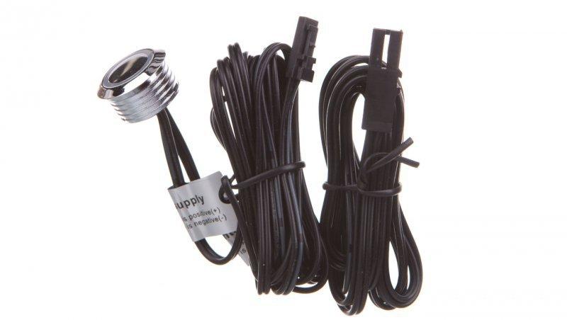 Włącznik dotykowy ściemnialny 12V DC max.20W przewód 1500mm chrom AE-WBEZD-NB