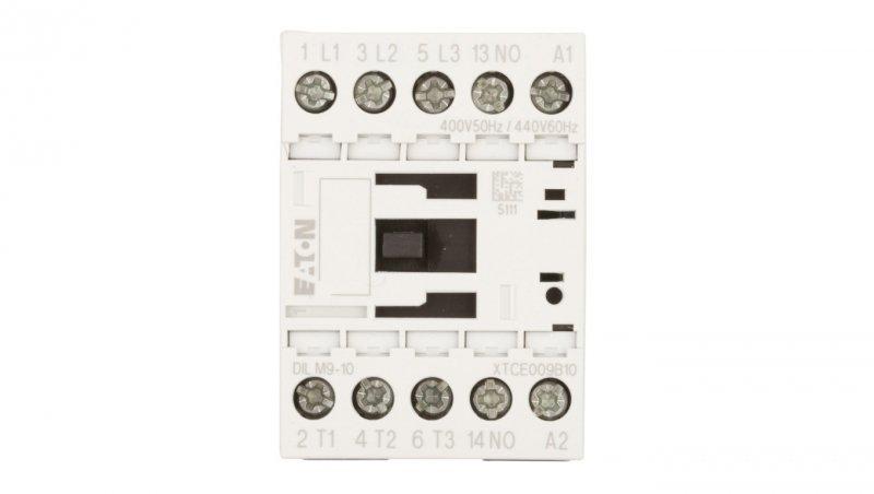 Stycznik mocy 9A 3P 400V AC 1Z 0R DILM9-10(400V50HZ,440V60HZ) 276692