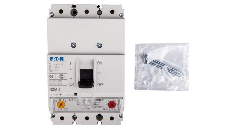 Wyłącznik mocy 3P 63A 25kA NZMB1-A63 259077