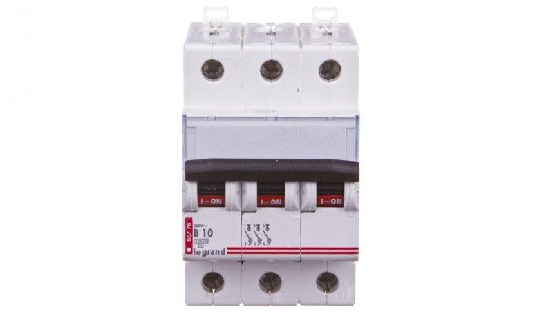 Wyłącznik nadprądowy 3P B 10A 10kA AC S313 TX3 404124