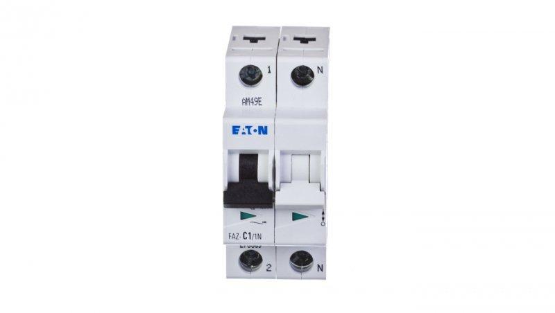 Wyłącznik nadprądowy 1+N C 1A 15kA AC FAZ C1/1N 278659